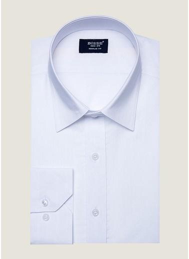 Bisse GM19Y91264 Uzun Kollu Spor Gömlek Beyaz